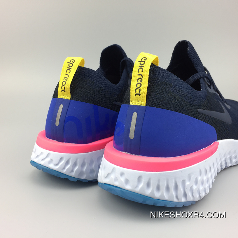 7be64d22fd017 Nike AQ0067-400 Epic React Flyknit New Technology Super Running Shoes  Picking 18 Epic React